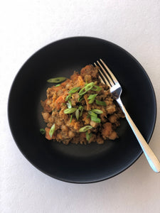Lentil, Sweet Potato & Chickpea Casserole