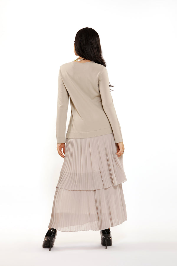 A two-layer marseille dress from Pillse from the bottom #B035