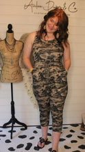 Load image into Gallery viewer, Camo Jumpsuit