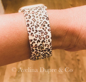 Animal Print light watch band