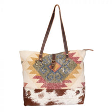 Load image into Gallery viewer, Myra Canvas Tote