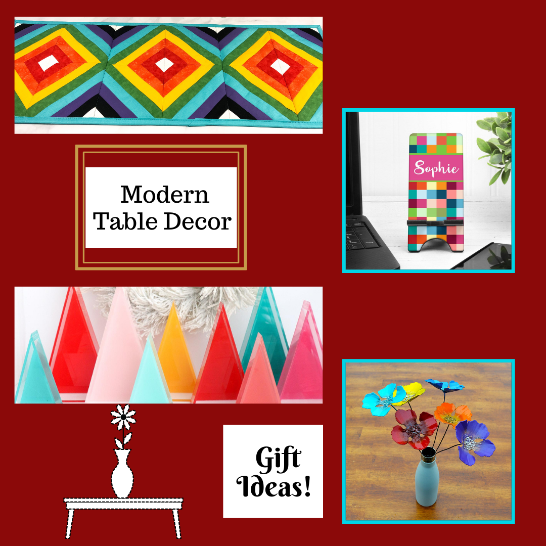 Modern Table Decor - Gift Giving Ideas