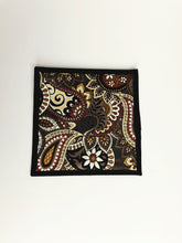 Load image into Gallery viewer, Brown Paisley Potholder