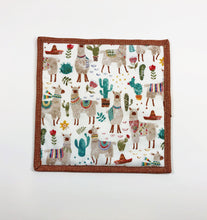Load image into Gallery viewer, Llama and Cactus Potholder