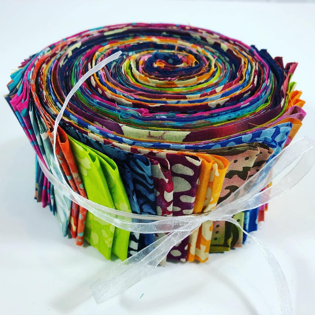 Fabric Jelly Roll Grab Bag