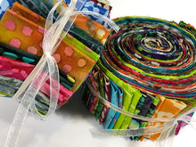 Load image into Gallery viewer, Fabric Jelly Roll Grab Bag