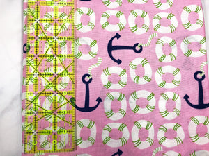 Nautical Themed Cotton Fabric
