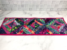 Load image into Gallery viewer, Pink Batik Table Runner