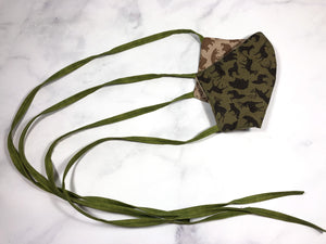 Animal Print Face Mask for Hunter
