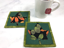 Load image into Gallery viewer, Autumn Drink Coaster Set of 2