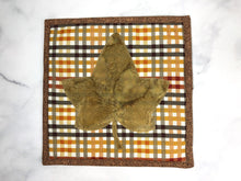 Load image into Gallery viewer, Checkered Fall Trivet