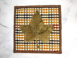 Checkered Fall Trivet