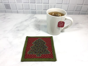 Christmas Tree Drink Coaster