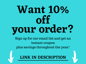 Save 10% off Sew Happy Quilting website by signing up for our email list.  And you will also get other savings via email throughout the year.