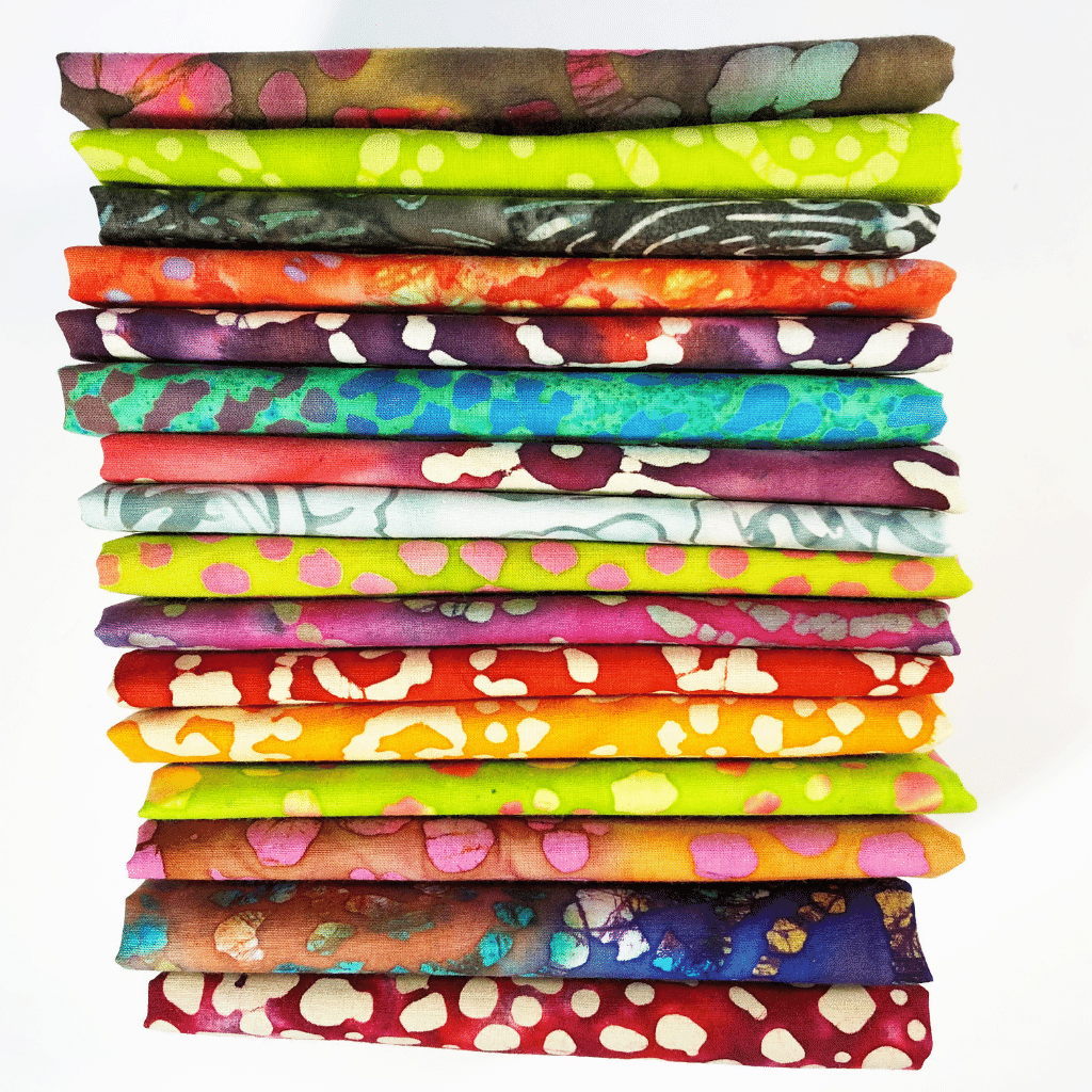 This monthly subscription box has a full yard of 100% batik fabric delivered to your door each month. You choose between earth tone colors or bright hues. This makes a great quilter gift and will help grow their fabric stash with this high quality batik material.