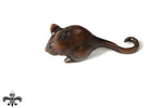Bronze Dormouse by Sculptor Andrew Glasby - Open Edition
