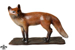 Bronze Fox by Sculptor Andrew Glasby