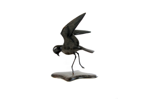 Bronze Storm Petrel by Alan Glasby OBE GM - Open Edition