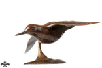 Bronze Sandpiper by Sculptor Alan Glasby OBE GM