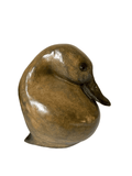 Lifesize Bronze Resting Teal