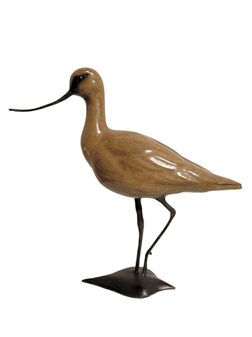 Bronze Avocet Alert by Sculptor Alan Glasby OBE GM - Limited Edition