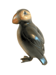 Life size Bronze Puffin by Andrew Glasby