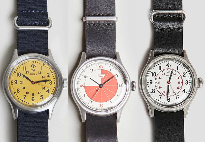 NICEL CABOURN x TIMEX COLLABORATION
