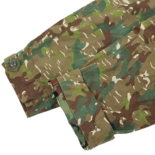 FREEWHEELERS <br>フリーホイーラーズ <br>KRAFTY <br>1950 - 1960s CIVILIAN MILITARY STYLE CLOTHING <BR>VINTAGE OXFORD <br>REVERSIBLE CAMOUFLAGE PRINT <br>