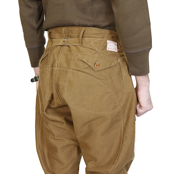 FREEWHEELERS <br>フリーホイーラーズ <br>TIMBER CRUISER BREECHES <br>1910 - 1930s WOODSMAN BREECHES <br>ORIGINAL HEAVY WEIGHT MOLESKIN