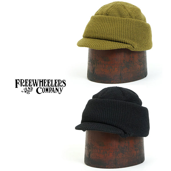 FREEWHEELERS <BR>フリーホイーラーズ <BR>BALACLAVA <BR>1940s CIVILIAN MILITARY STYLE CLOTHING <BR>2 COLORS <BR>100% WOOL <BR>
