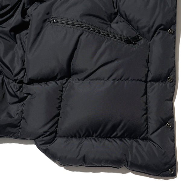 ROCKY MOUNTAIN FEATHERBED HERITAGE COLLECTION DOWN JACKET BLACK x BLACK MADE IN JAPAN