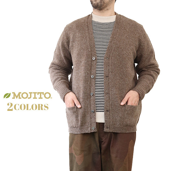 MOJITO PORTRAIT CARDIGAN 2 COLORS MADE IN JAPAN