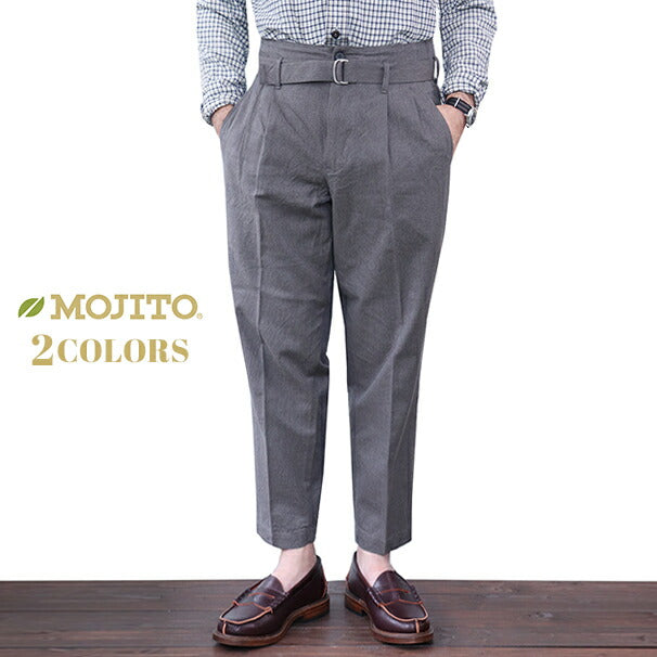 MOJITO <BR>(SIZE:W30-W36) <br>GULF STREAM PANT <BR>Bar.18.0 <BR>2 COLORS <BR>MADE IN JAPAN <BR>