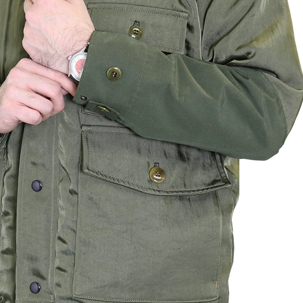 FREEWHEELERS <br>フリーホイーラーズ <br>POINTER <BR>OUTDOOR STYLE FIELD JACKET <br>NYLON TWILL <BR>OLIVE GREEN <BR>