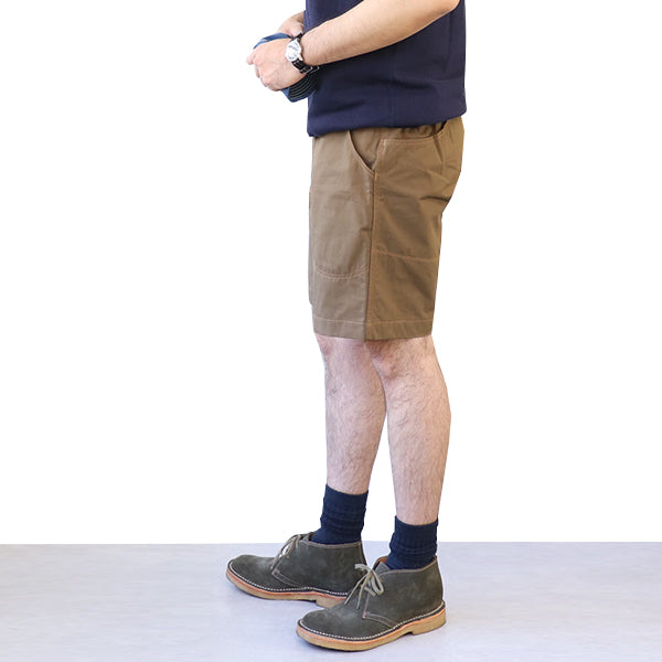 FREEWHEELERS <br>フリーホイーラーズ <br>PACIFIC CREST TRAIL <br>OLD STYLE OUTDOOR SPORT SHORTS <br>GREAT LAKES GMT.MFG.CO. <BR>COTTON × CORDURA NYLON OXFORD CLOTH <BR>KHAKI <BR>