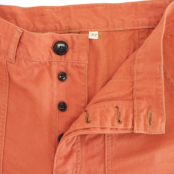 FREEWHEELERS <br>フリーホイーラーズ <br>PACIFIC CREST TRAIL <br>OLD STYLE OUTDOOR SPORT SHORTS <br>GREAT LAKES GMT.MFG.CO. <BR>MILITARY TWILL <BR>ORANGE <BR>