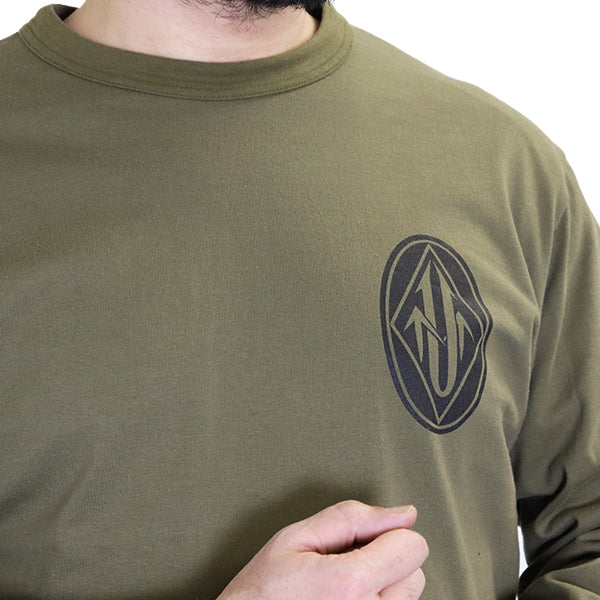 FREEWHEELERS <br>ULTIMA THULE TACTICAL <BR>SET-IN LONG SLEEVE T-SHIRT <br>ULTIMA THULE EQUIPMENT <BR>HEAVY WEIGHT CORDURA JERSEY <BR>2 COLORS <br>