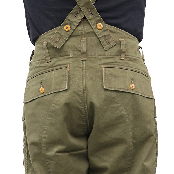 FREEWHEELERS FLYING TROUSERS 1940s CIVILIAN MILITARY STYLE CLOTHING COTTON CHINO DRILL OLIVE