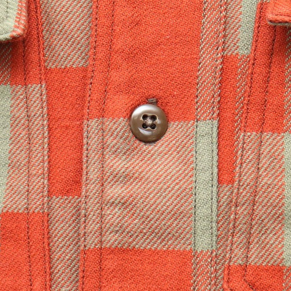 FREEWHEELERS OFFY 1920 --1930s STYLE WORK SHIRT COTTON FLANNEL CHECK 2 COLORS