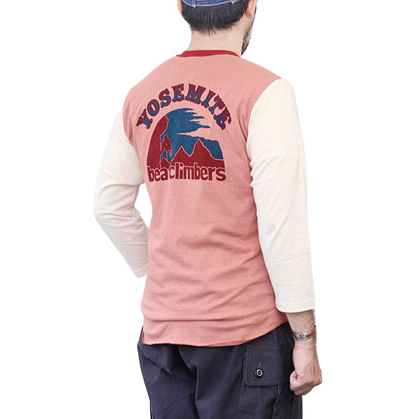 FREEWHEELERS 4/5 SET-IN SLEEVE SHIRT YOSEMITE NATIONAL PARK VINTAGE STYLE LIGHT WEIGHT JERSEY 2 COLORS