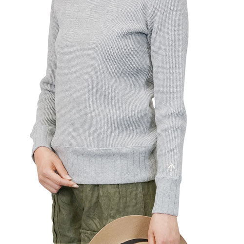 NIGEL CABOURN WOMANNigel Cabourn Woman TURTLE NECK SHIRT BIG WAFFLE 5 COLORS MAIN LINE