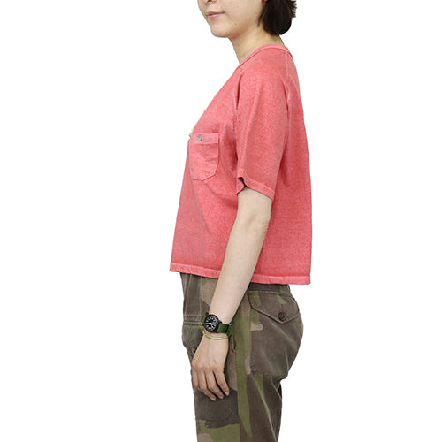 NIGEL CABOURN WOMANNigel Cabourn Woman FREEDOM SLEEVE BIG T-SHIRT 4 COLORS MAIN LINE