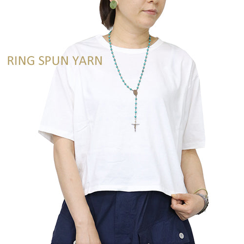 NIGEL CABOURN WOMAN <br>ナイジェル・ケーボン ウーマン <br>3-PACK TEES <br>WHITE <br>MAIN LINE <br>3パックTシャツ <br>