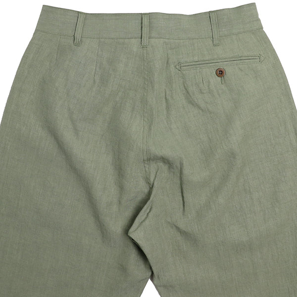 NIGEL CABOURN <br>ナイジェル・ケーボン <br>GENTLEMAN PANT <br>HIGH DENSITY LINEN <br>MAIN LINE <BR>2019SS MODEL