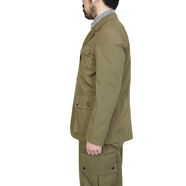 NIGEL CABOURNNigel Cabourn MALLORY JACKET PARATROOPER TYPE WEATHER CLOTH MAIN LINE