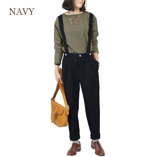 NIGEL CABOURN WOMAN <br>ナイジェル・ケーボン ウーマン <br>WORKWEAR PANT MELTON <br>2 COLORS <BR>MAIN LINE <br>