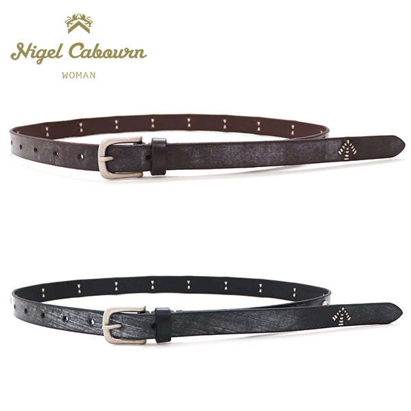 NIGEL CABOURN WOMANNigel Cabourn Woman CONCHO BELT BRIDLE LEATHER 2 COLORS MAIN LINE