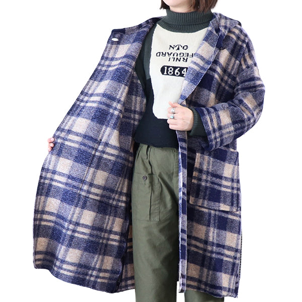 NIGEL CABOURN WOMANNigel Cabourn Woman DUFFLE JACKET 2 COLORS AUTHENTIC LINE