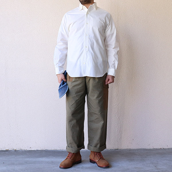 NIGEL CABOURN <br>BRITISH OFFICERS SHIRT <BR>HIGH DENSITY TWILL <BR>3 COLORS <br>MAIN LINE <BR>