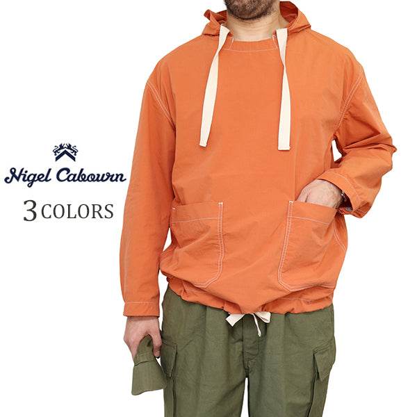 NIGEL CABOURNNigel Cabourn ARMY SMOCK COTTON NYLON SULFUR DYE 3 COLORS MAIN LINE